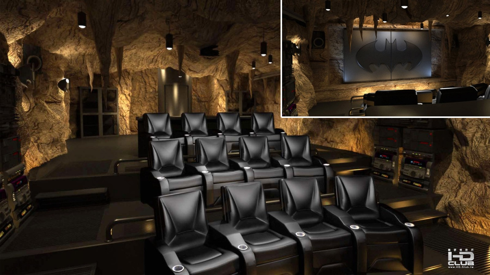 2_batcave home theater