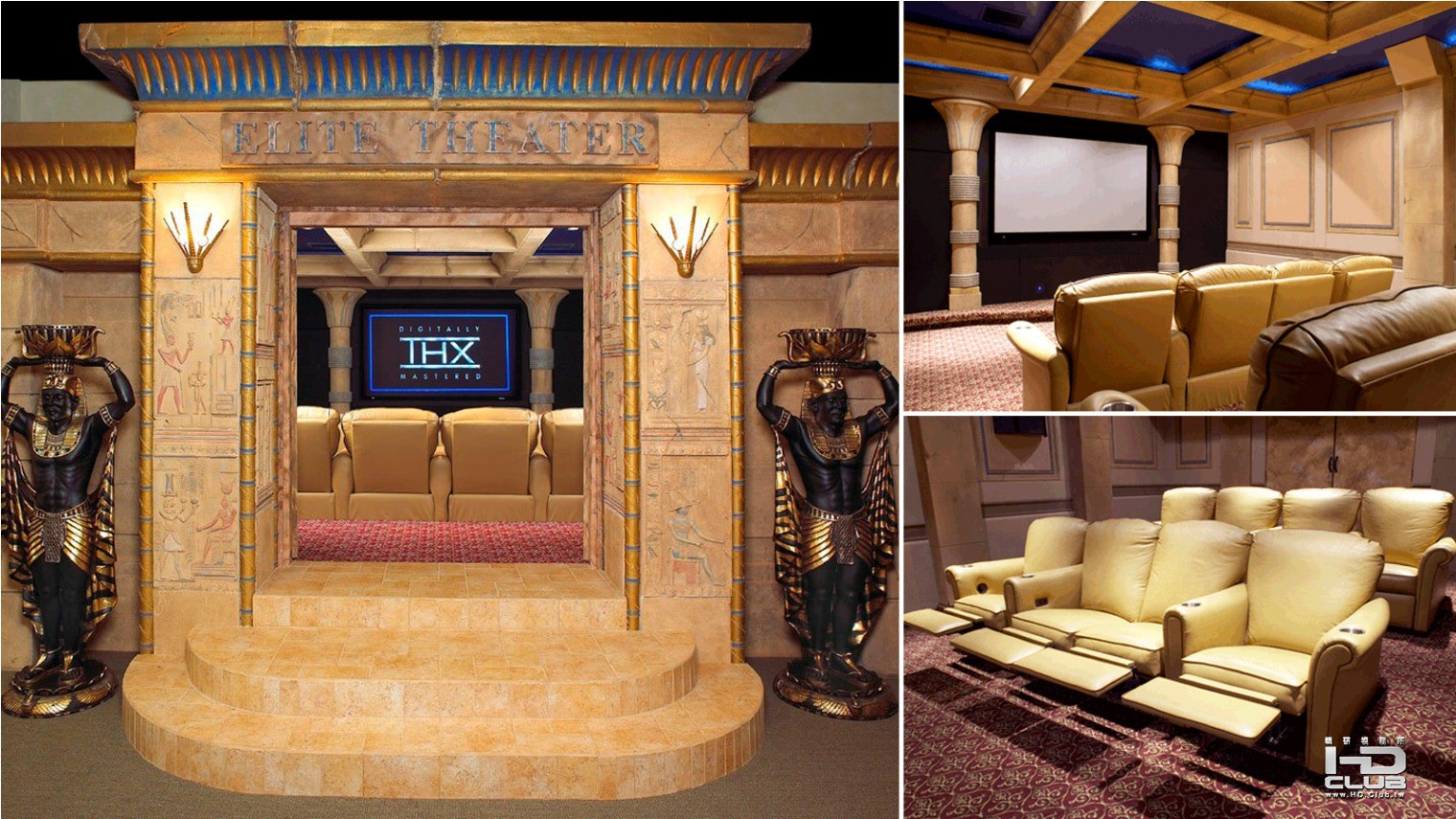 11_ Egyptian home theater