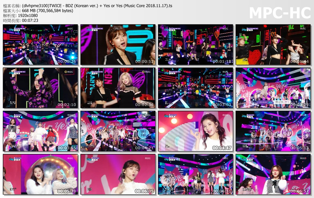 (dlvhpme3100)TWICE - BDZ (Korean ver.) + Yes or Yes (Music Core 2018.11.17).ts_thumbs.jpg